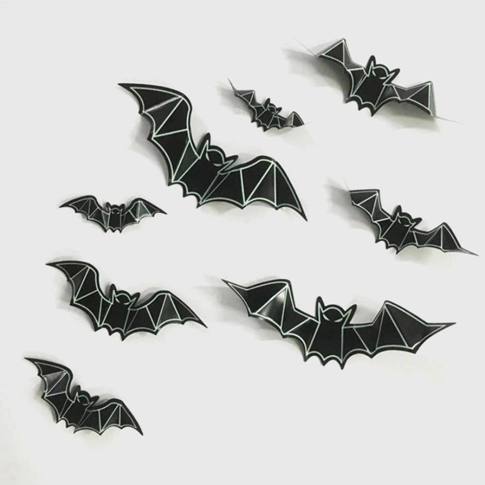 Bat Vinyl Wall Stickers (8 pieces) - Wyvern's Hoard