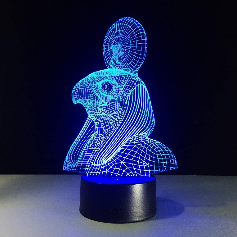 Ra 3D Hologram Lamp