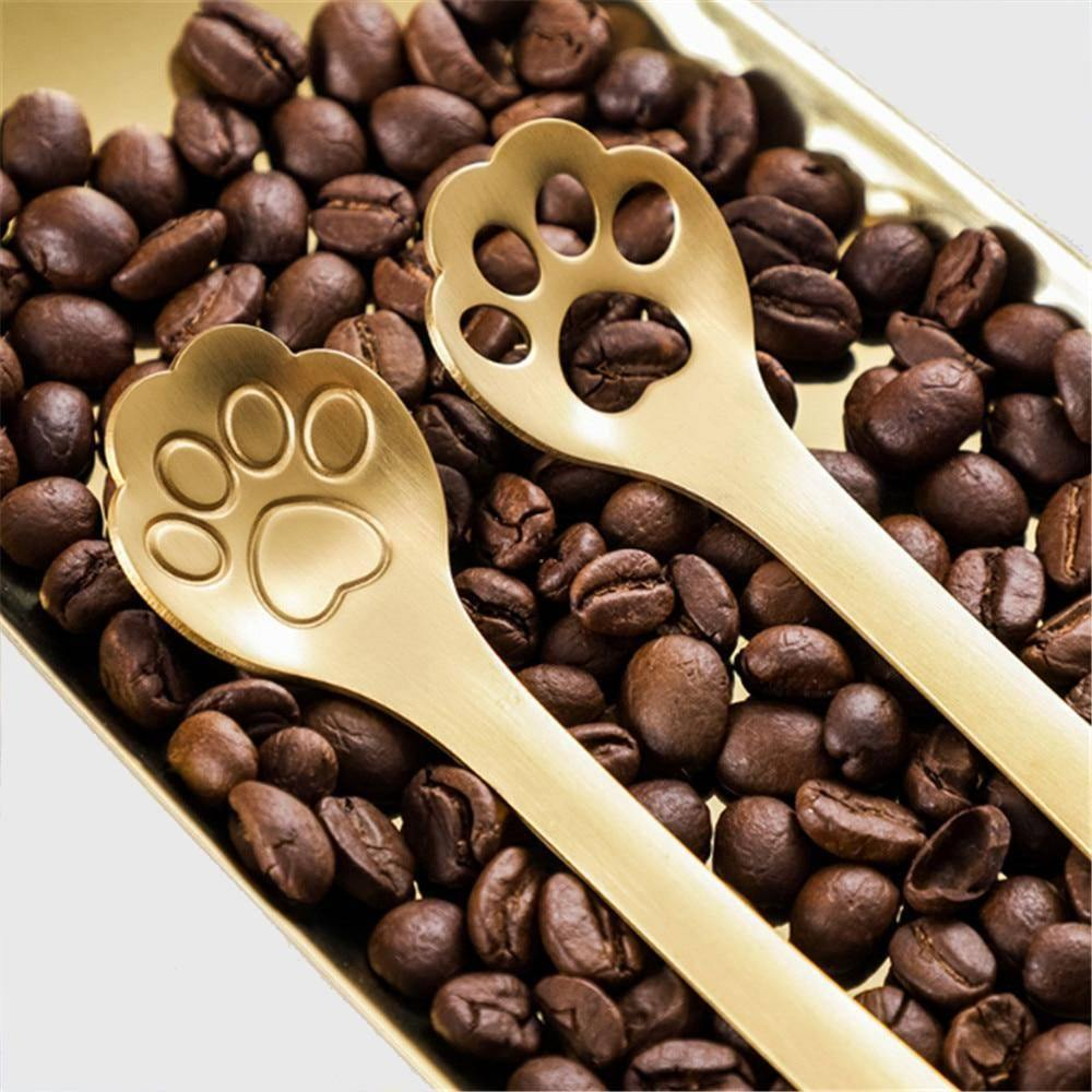 Kitty Paw Spoons & Stirrers (4 pieces)
