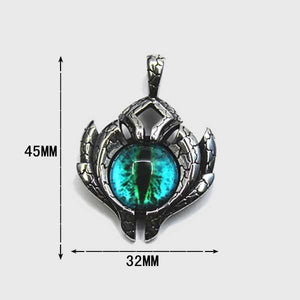 Ice Dragon's Eye Necklace