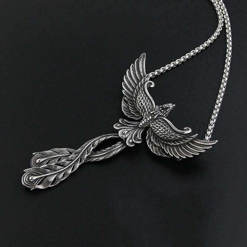 Soaring Phoenix Necklace - Wyvern's Hoard