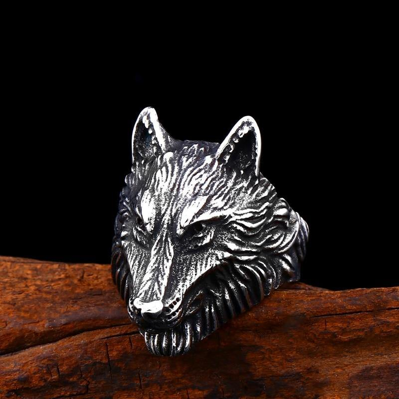 Alpha Wolf Ring