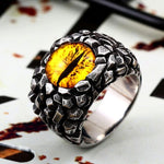 Scaly Dragon's Eye Ring