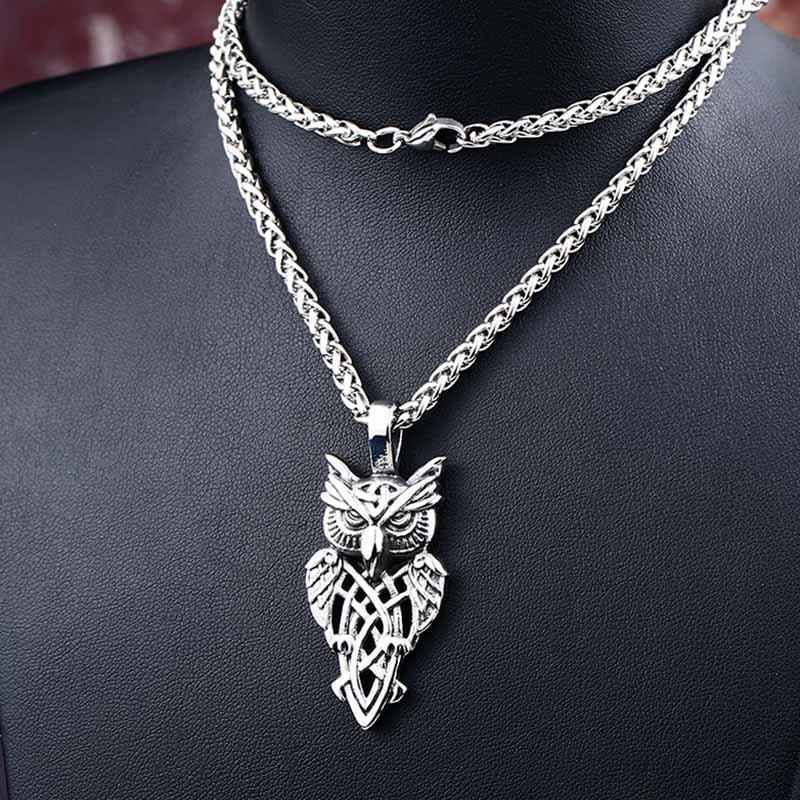 Nordic Owl Necklace