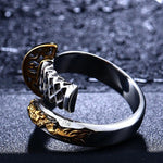 Amakuni's Dragon Katana Ring