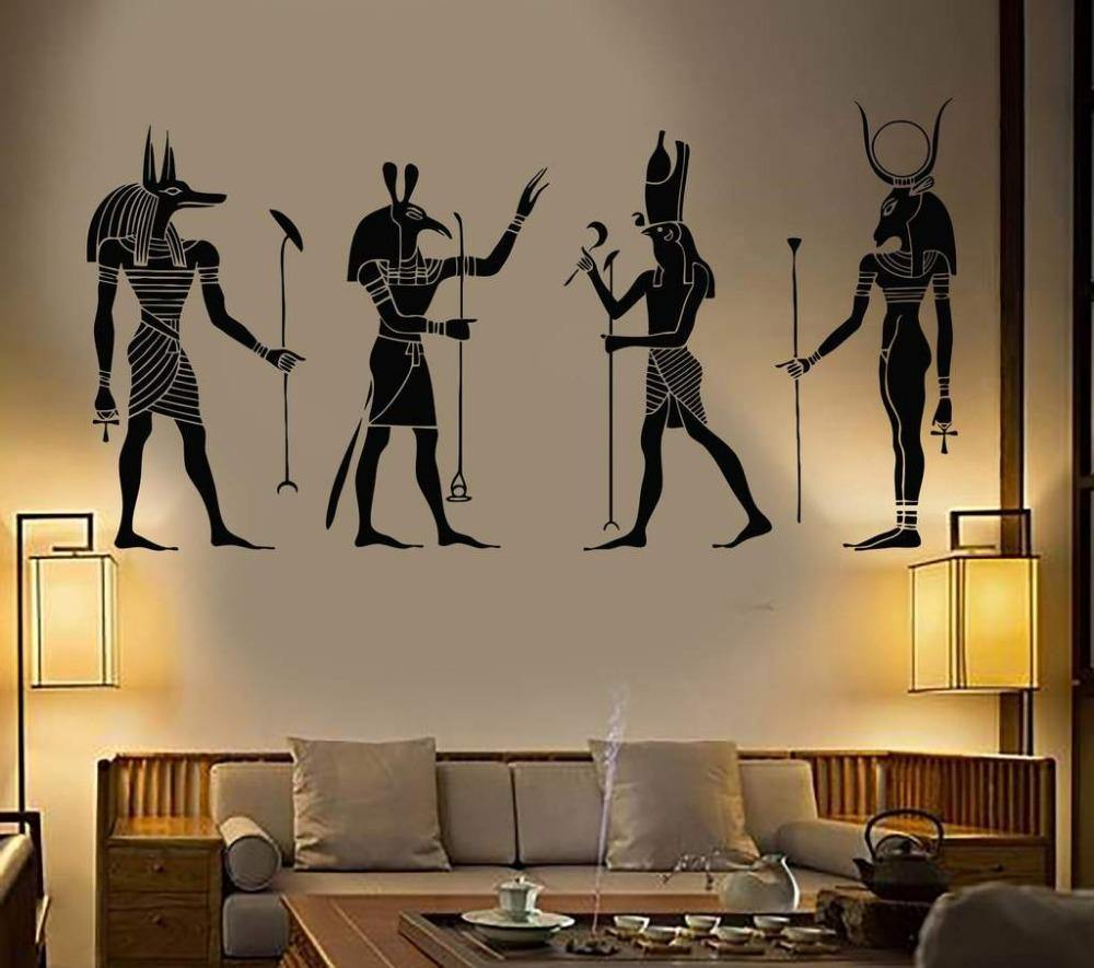 Egyptian Pantheon Wall Decals - Wyvern's Hoard