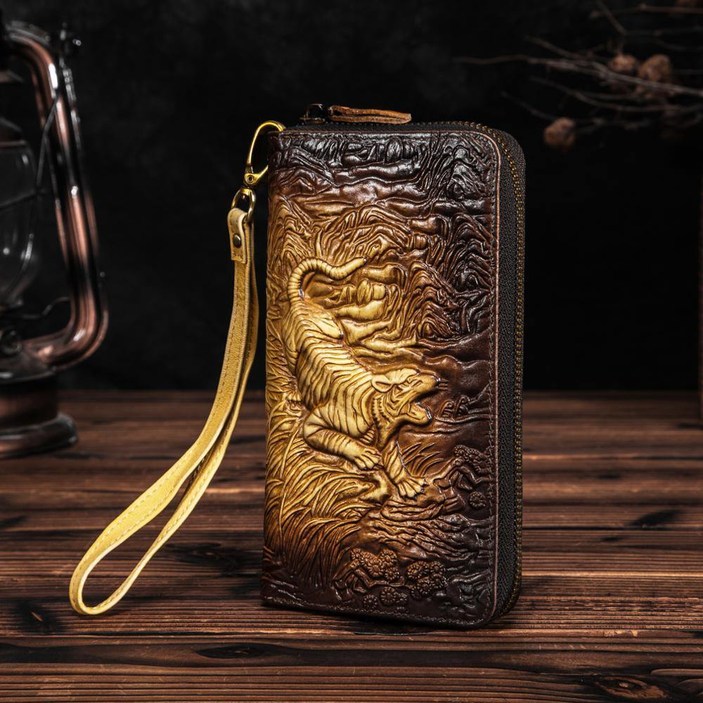 Celestial Beings Genuine Leather Wallets