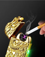 Dragon Relief Plasma Arc Lighter - Wyvern's Hoard