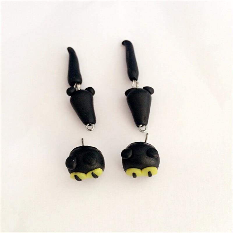 Black Cat Earrings - Wyvern's Hoard
