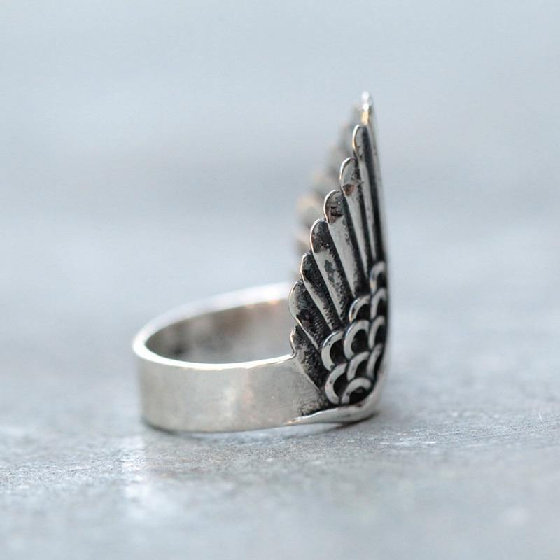 Angel Wings Ring - Wyvern's Hoard