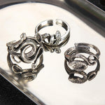 Nest of Snakes Rings