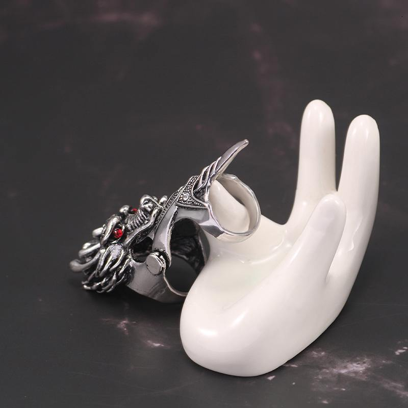 Dragon King Finger Ring - Wyvern's Hoard