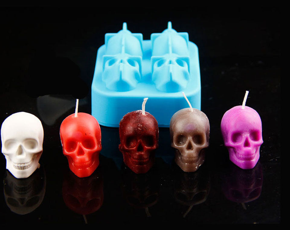 Epic 3D Skull Silicone Mold