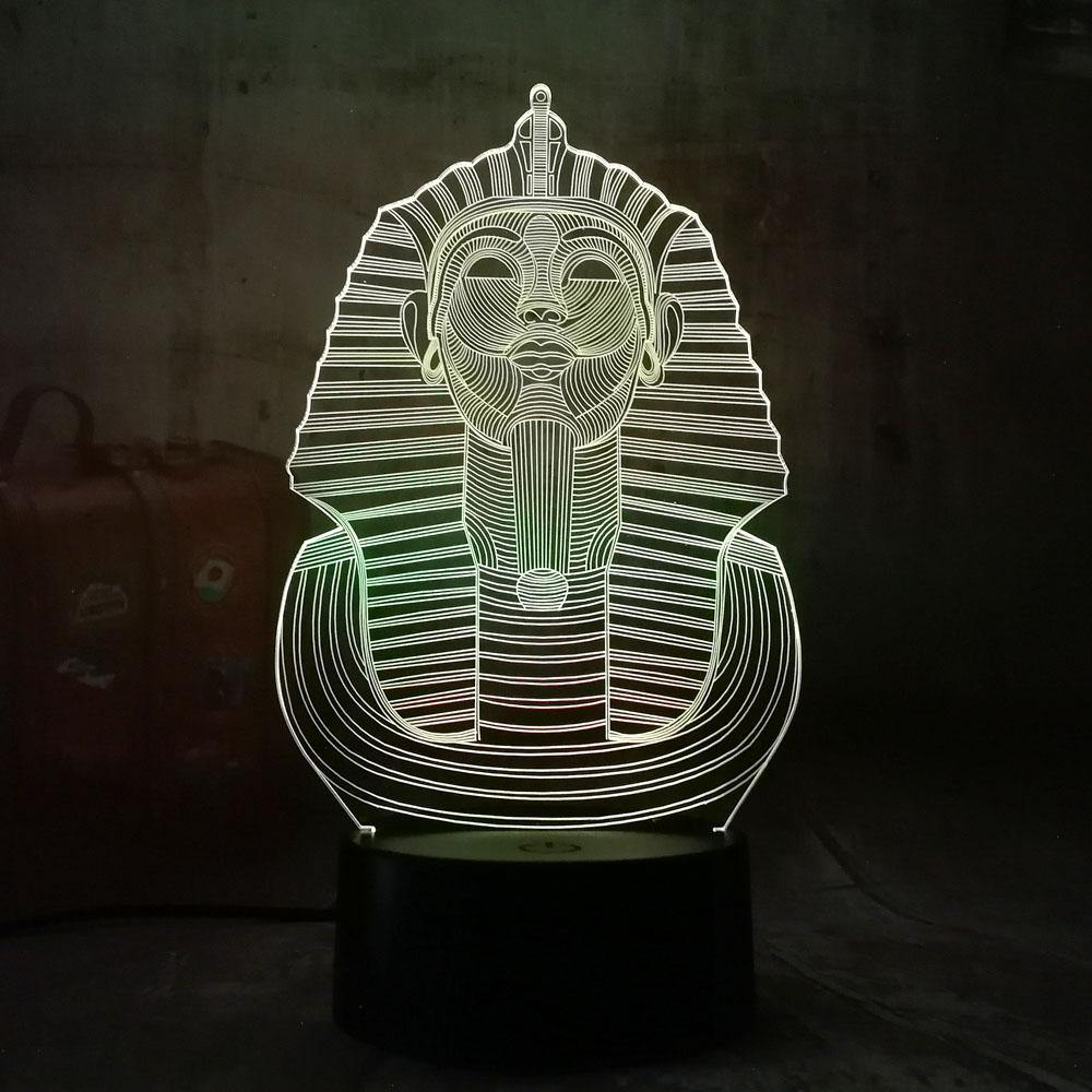 Holographic Pharaoh Lamp - Wyvern's Hoard