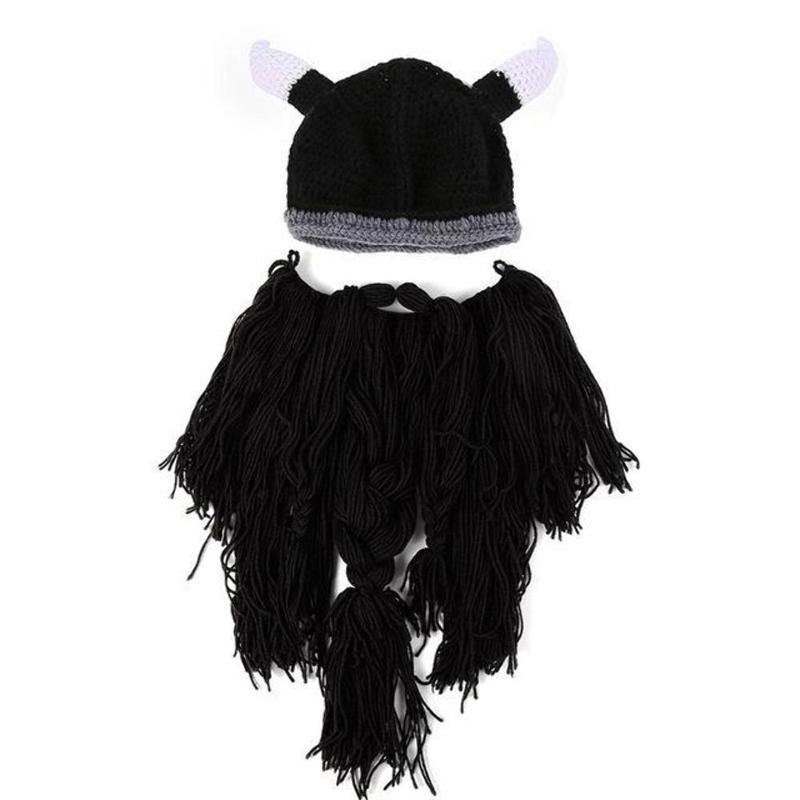 Viking Warrior Beard Beanie