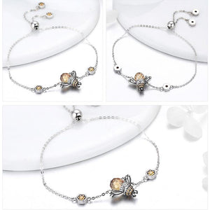 Bumblebee Sterling Silver Jewelry Set