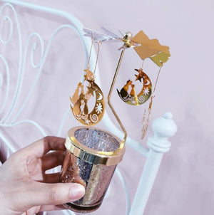 Fantastical Ornamental Carousel Candle Holder