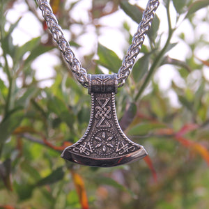 Viking Ceremonial Axehead Necklace
