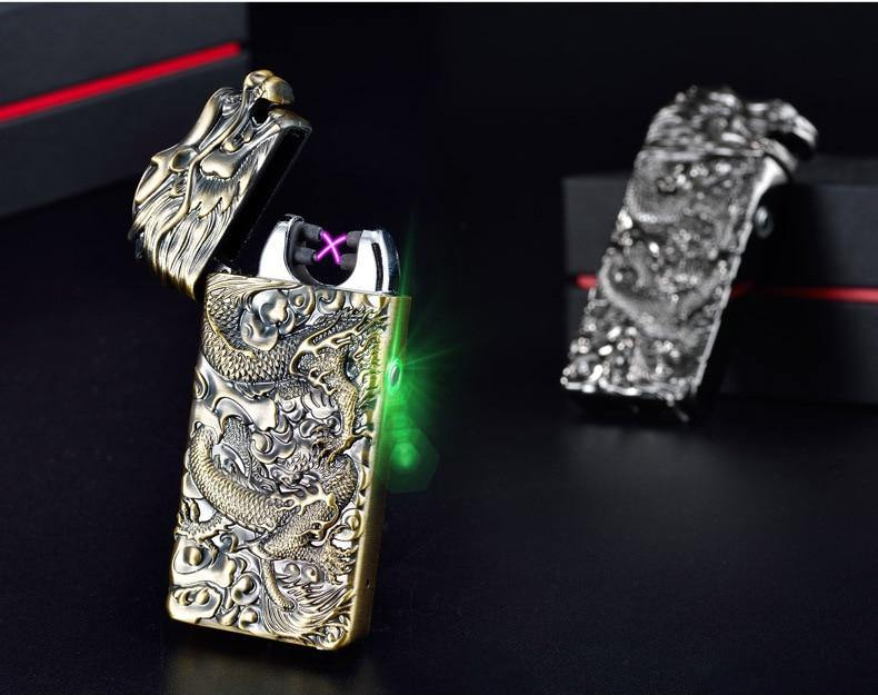 Dragon Relief Plasma Arc Lighter