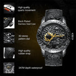 Celestial Dragons Mechanical Watch - Wyvern's Hoard
