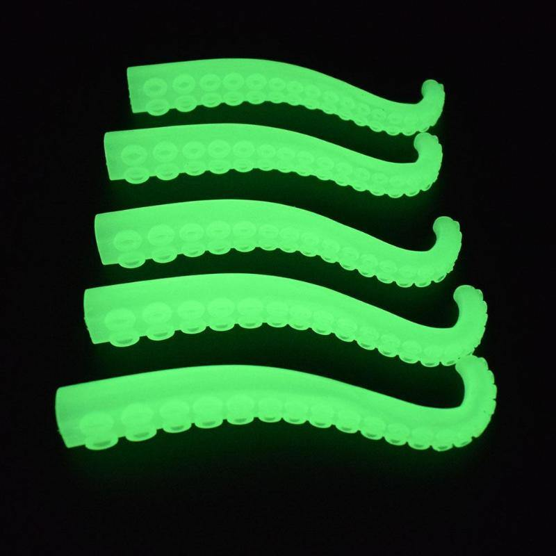 Glow In The Dark Finger Tentacles (Pack of 5)