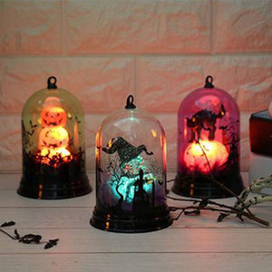 Halloween Town Lamps