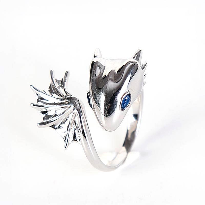 Baby Dragon Adjustable Ring - Wyvern's Hoard