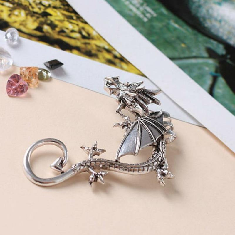 Perching Dragon Earcuff