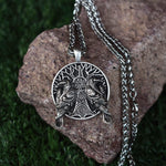 Huginn, Muninn 3D Necklace