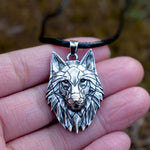 Rugged Wolf Necklace - Wyvern's Hoard