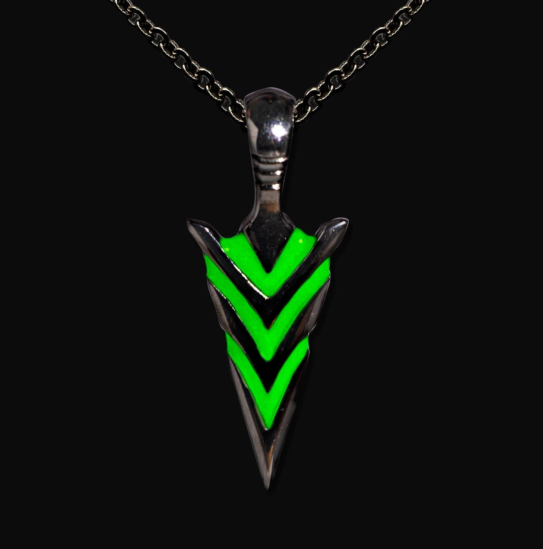 Exclusive Glow In The Dark Arrowhead Necklaces - Wyvern's Hoard