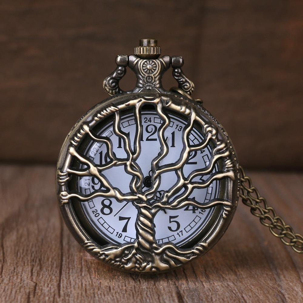 Tree of Life Pocket Watch - Wyvern's Hoard