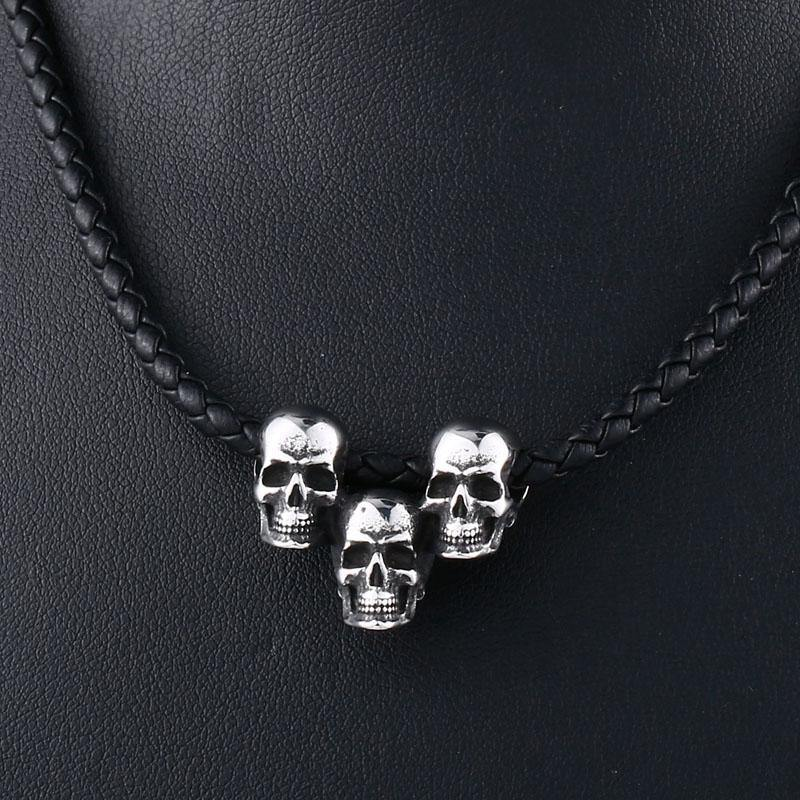Skull Triad Necklace - Wyvern's Hoard
