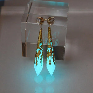 Crystal Obelisk Earrings