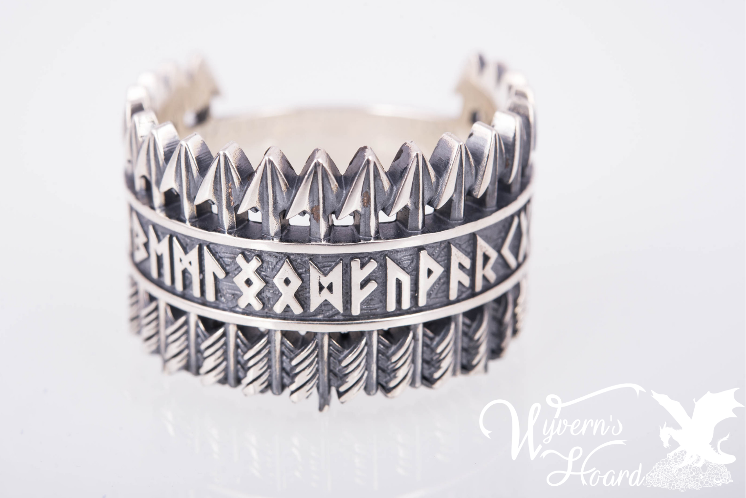 Elder Futhark Runes Arrows Rings