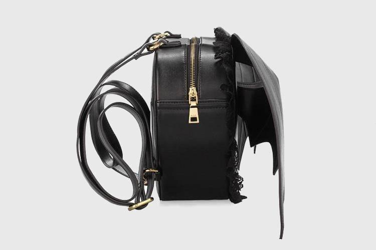 Bat Wings Leather Backpack - Wyvern's Hoard