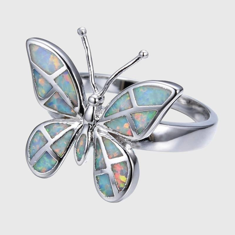 Butterfly Opal Ring - Wyvern's Hoard