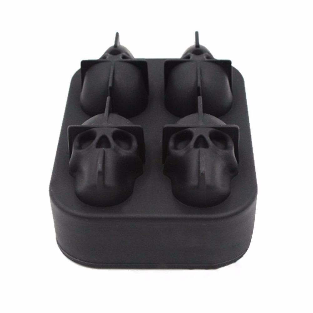 Fanduco Molds 3D Skull Silicone Mold