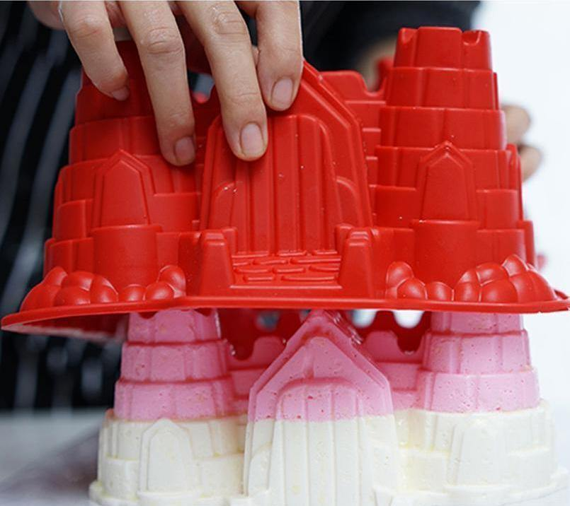 Fanduco Molds Castle Silicone Mold