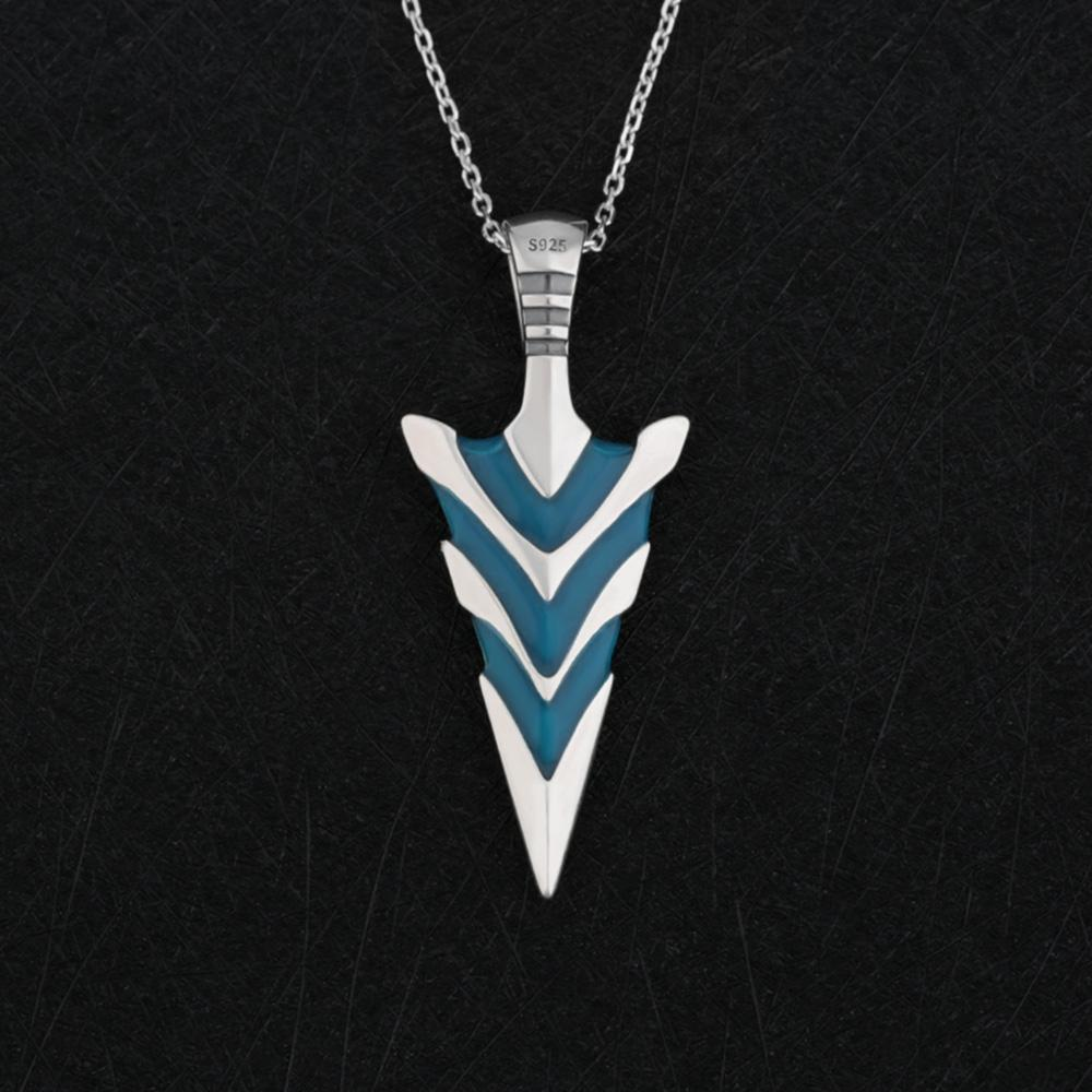 Fanduco Necklaces Arrowhead Glow In The Dark Necklace