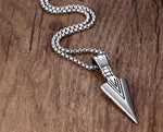 Fanduco Necklaces Polished Arrowhead Necklace