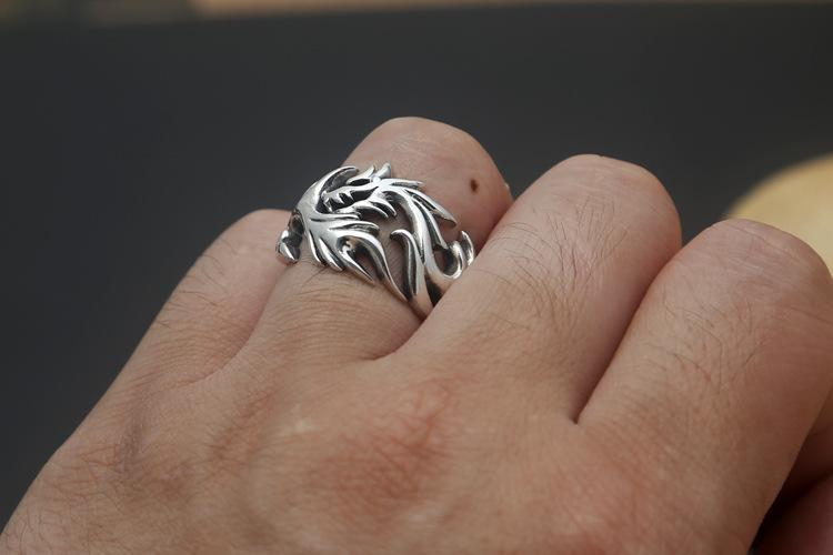 Fanduco Rings Dragon's Fury Ring