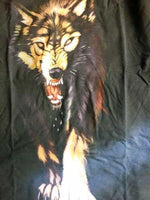 Fanduco T-Shirts Lone Wolf Glow In The Dark T-Shirt