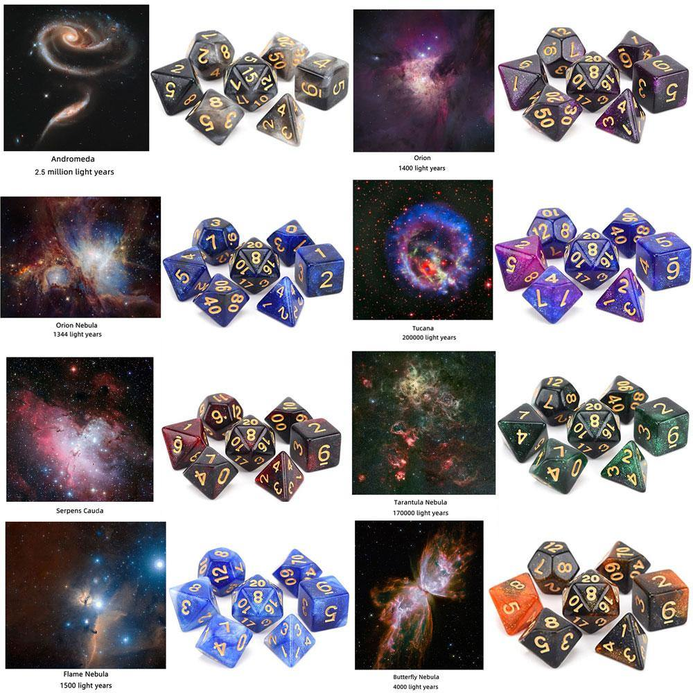 Galactic Space Dice Sets