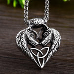 Wolf Life Mates Necklace - Wyvern's Hoard