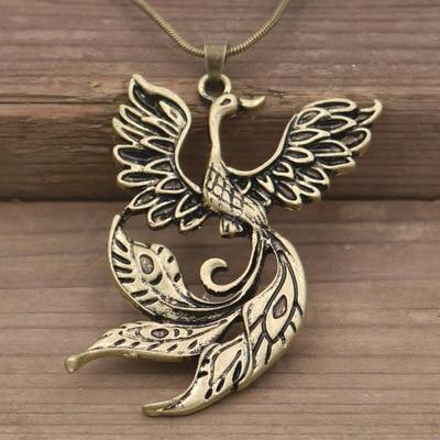 Phoenix Arise Necklace - Wyvern's Hoard