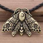 Moon Moth Totem Necklace - Wyvern's Hoard