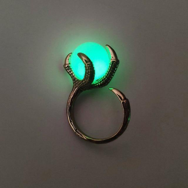 Dragon's Claw Glow in the Dark Ring
