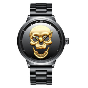 The Golden Skull Watch