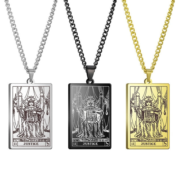Major Arcana Tarot Card Necklaces